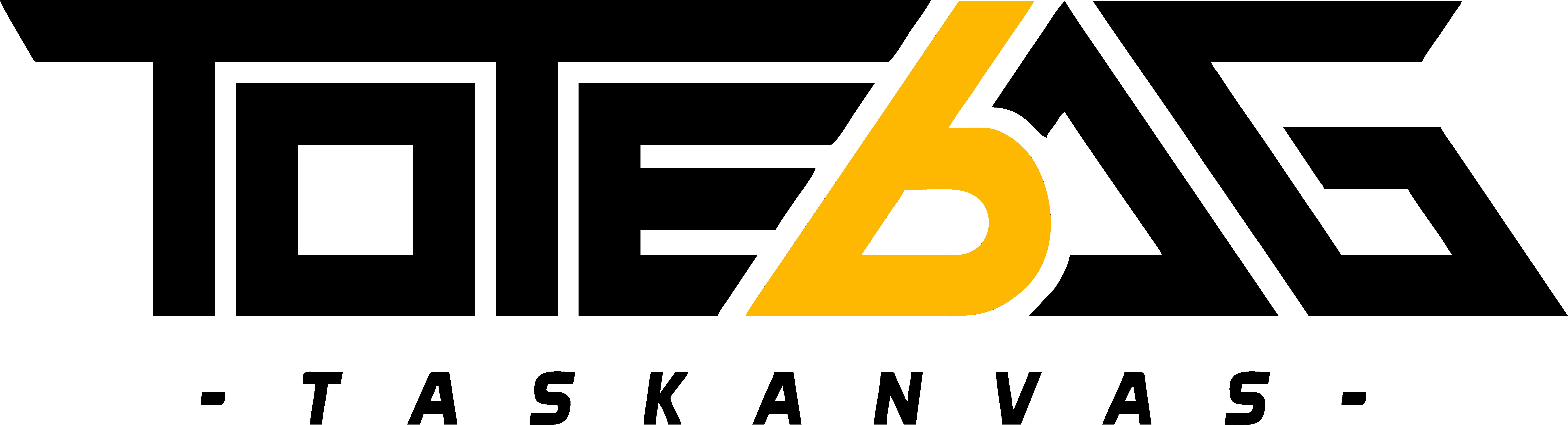 totebag tas kanvas logo