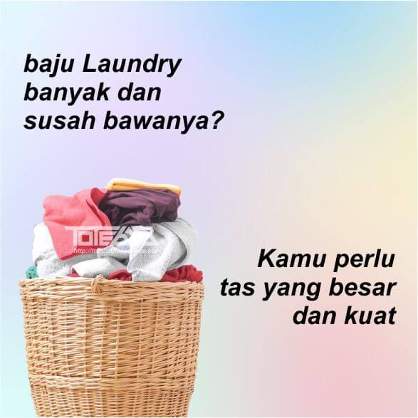 Grosir Tas Laundry Batik Perca Jogja