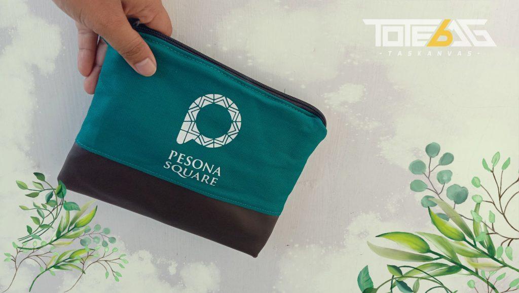 pouch pesona square kanvas