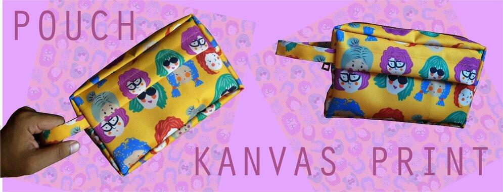 print kanvas custom pouch totebag jogja