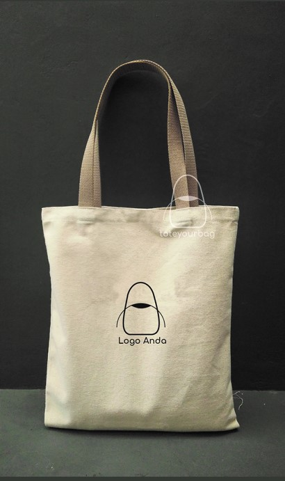 tote bag canvas tali bisban custom